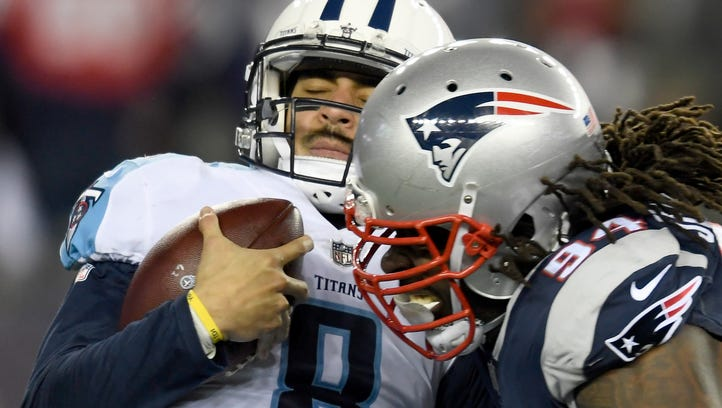 Live blog: Patriots romp past Titans in NFL playoffs
