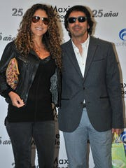 El productor está casado con Vica Andrade con quien