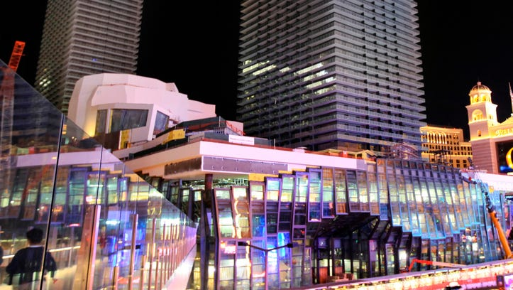 The Cosmopolitan of Las Vegas shows the Cosmopolitan hotel and casino in Las Vegas.