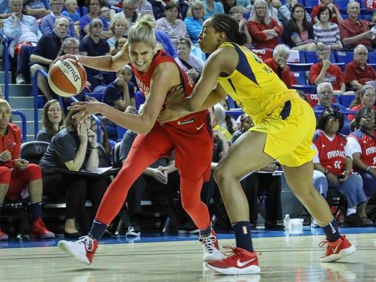 WNBA PRESEASON BASKETBALL 2018 - MAY 12 - Washington Mystics vs Indiana Fever