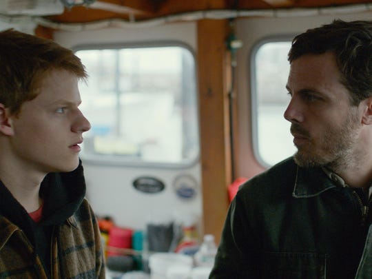 """Lucas Hedges and Casey Affleck in """"Manchester By The Sea."""""""