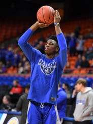 Kentucky Wildcats guard Hamidou Diallo.