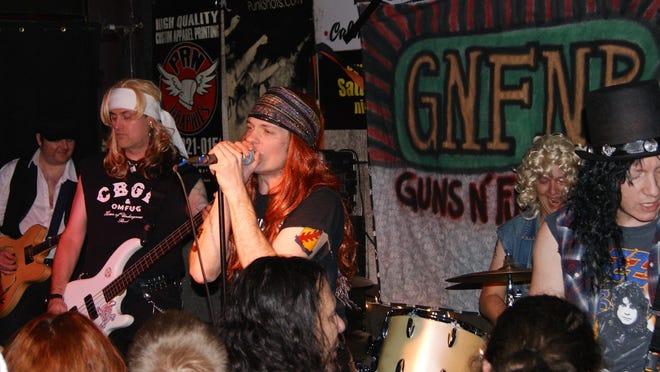 The Knickerbocker will host a Guns 'n' Roses tribute band Friday night.
