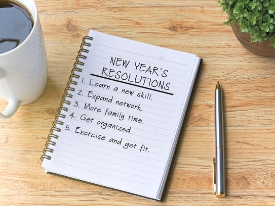What's the key to making resolutions stick?