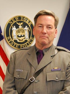 New York State Police Major William McEvoy