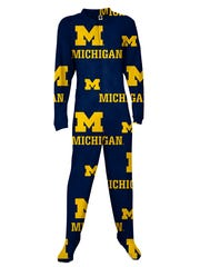 Michigan sleepwear.