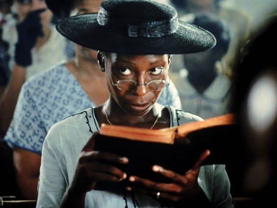 "Whoopi Goldberg stars as a woman struggling with equality in the South in ""The Color Purple."""