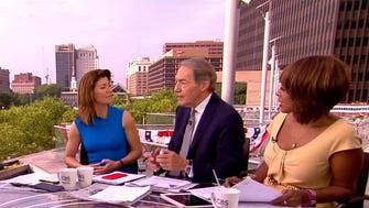 Charlie Rose, Norah O'Donnell and Gayle King live in Philadelphia for the DNC.