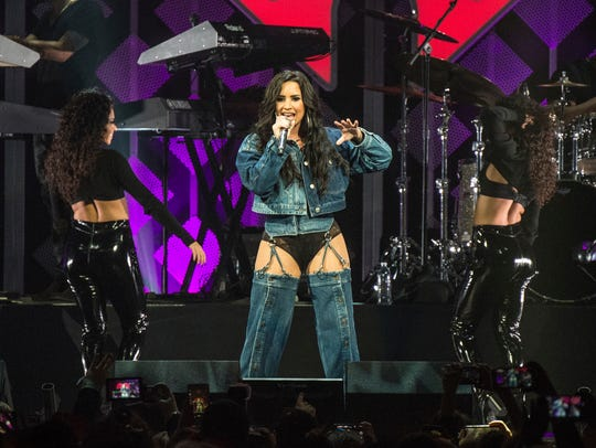 Demi Lovato will perform on April 2 at the Prudential