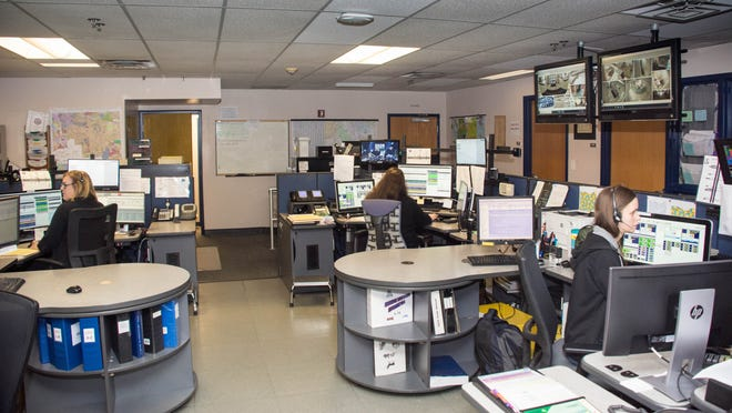 Stow dispatch center answers calls and relays information to the police, fire and EMS safety forces.