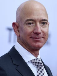 "Jeff Bezos arrives at ""The Post"" Washington, DC Premiere"