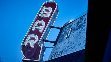 The sign at Joebar, debuting in Hazel Park Wednesday, is salvaged from the defunct Pep Grill in Harrisburg, Penn.
