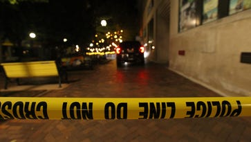 Two men charged in ped mall shooting that injured three early Sunday