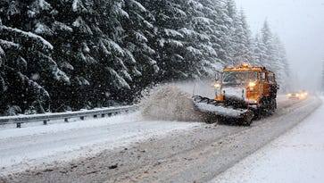 Second major storm will bring snow to Oregon mountain passes, impacting traffic