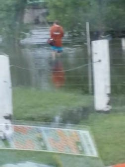 Fort Dodge police are asking for the public's help in identifying a person in this photo. He matches the description of a boy witnesses said disappeared while in Des Moines River flood water Thursday night.