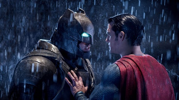 Batman (Ben Affleck) and Superman (Henry Cavill) in