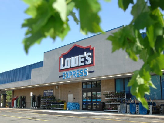 The Lowe's Express in Wall when it opened in 2013.