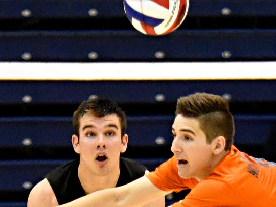 Northeastern's James Toomey goes after the ball while