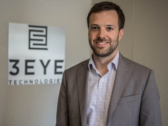 President & CEO of 3 Eye Technologies, Conor Macfarlane.