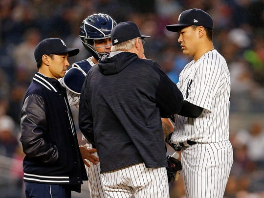 Though Girardi didn't dismiss an idea of fully skipping Tanaka's turn, he didn't seem enthralled by the idea.