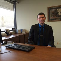 Justin Anderson is the new senior bank manager for Associated Bank at its Stevens Point branch located at 1325 Church St.