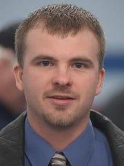 Marysville High School hockey coach Paul Moretz.