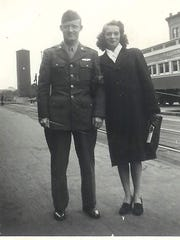 Jim and Margaret were married on Jim's lunch break