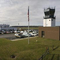 Dutchess County Airport in the Town of Wappinger.