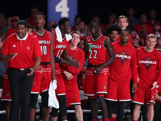 NCAA Basketball: Battle 4 Atlantis-Wichita State vs Louisville