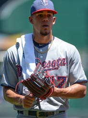 Jose Berrios is 8-3 with a 3.70 ERA and 70 strikeouts