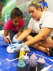 Crafts, games and pool-time fun are in store at Patterson