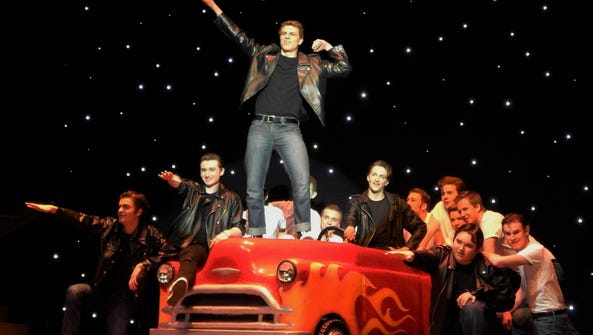 Cole Donahue's character Kenickie is featured in the