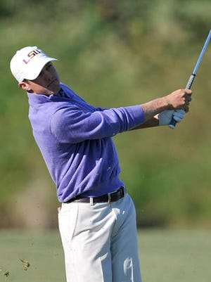 Former Calvary star Nathan Jeansonne made a hole-in-one for the LSU Tigers on Tuesday in Mexico.