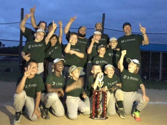 Maurice River recently earned the title in the 10U