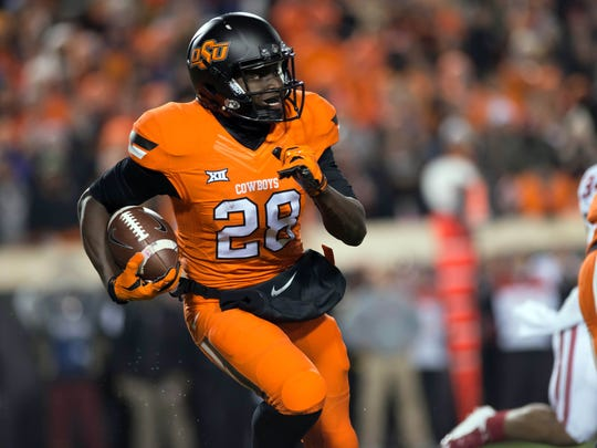 Oklahoma State's James Washington is the conference's