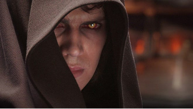 Anakin Skywalker (Hayden Christensen) in Star Wars: Revenge of the Sith.