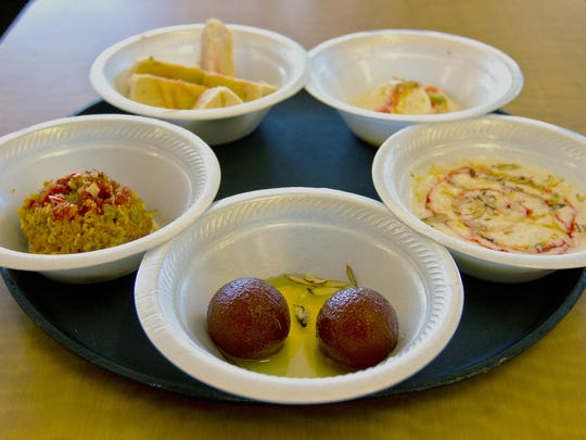 Several dessert options are available at Ahana's Bombay