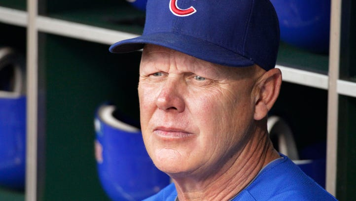 Mike Quade, formerly manager of the Chicago Cubs.