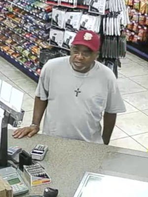 The Escambia County Sheriff's Office says this unidentified man stole from a Quick Fill on Gulf Beach Highway on Sept. 21, 2017.