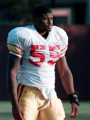 Chris Claiborne played linebacker at USC from 1996 to 1998 before a successful career in the NFL. He has taken over as the head coach at Calabasas High.