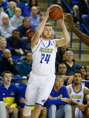 Sean Locke was a walk-on at the University of Delaware who played in just 20 career games. He became a captain in 2015-2016.