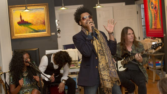 Gedeon Luke performs at Art 629 Gallery on Cookman Ave in Asbury Park during a previous Asbury Underground.