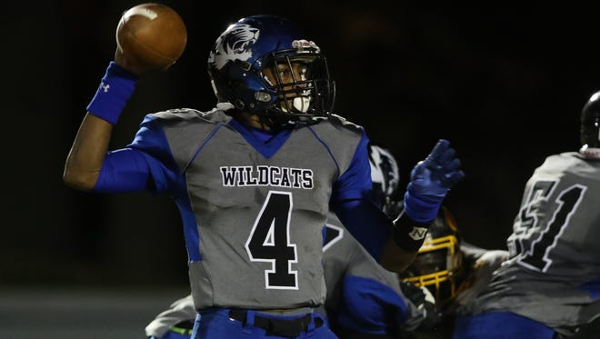 Howard quarterback Earnest Austin is among the seniors selected to play in the 61st annual Blue-Gold football game June 18 at Delaware Stadium.