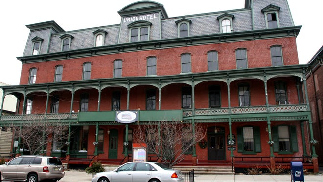 A rally will be held Oct. 22 to save the Union Hotel in Flemington from demolition.