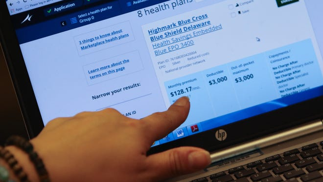 Delaware residents enrolled on Obamacare are paying an average of $750 every month in premiums, compared to the national average of $621.