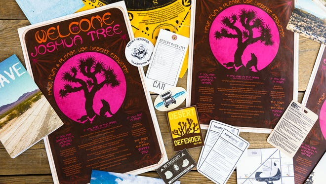 Materials made by local residents and the Mojave Desert Land Trust to educate visitors about the desert.