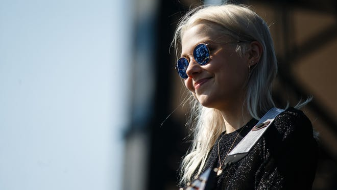 Phoebe Bridgers at the 80/35 music festival in Des Moines in 2018.