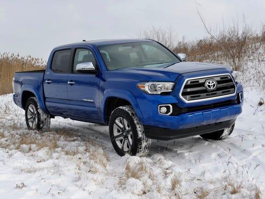 2015 Toyota Tacoma pickup trucks