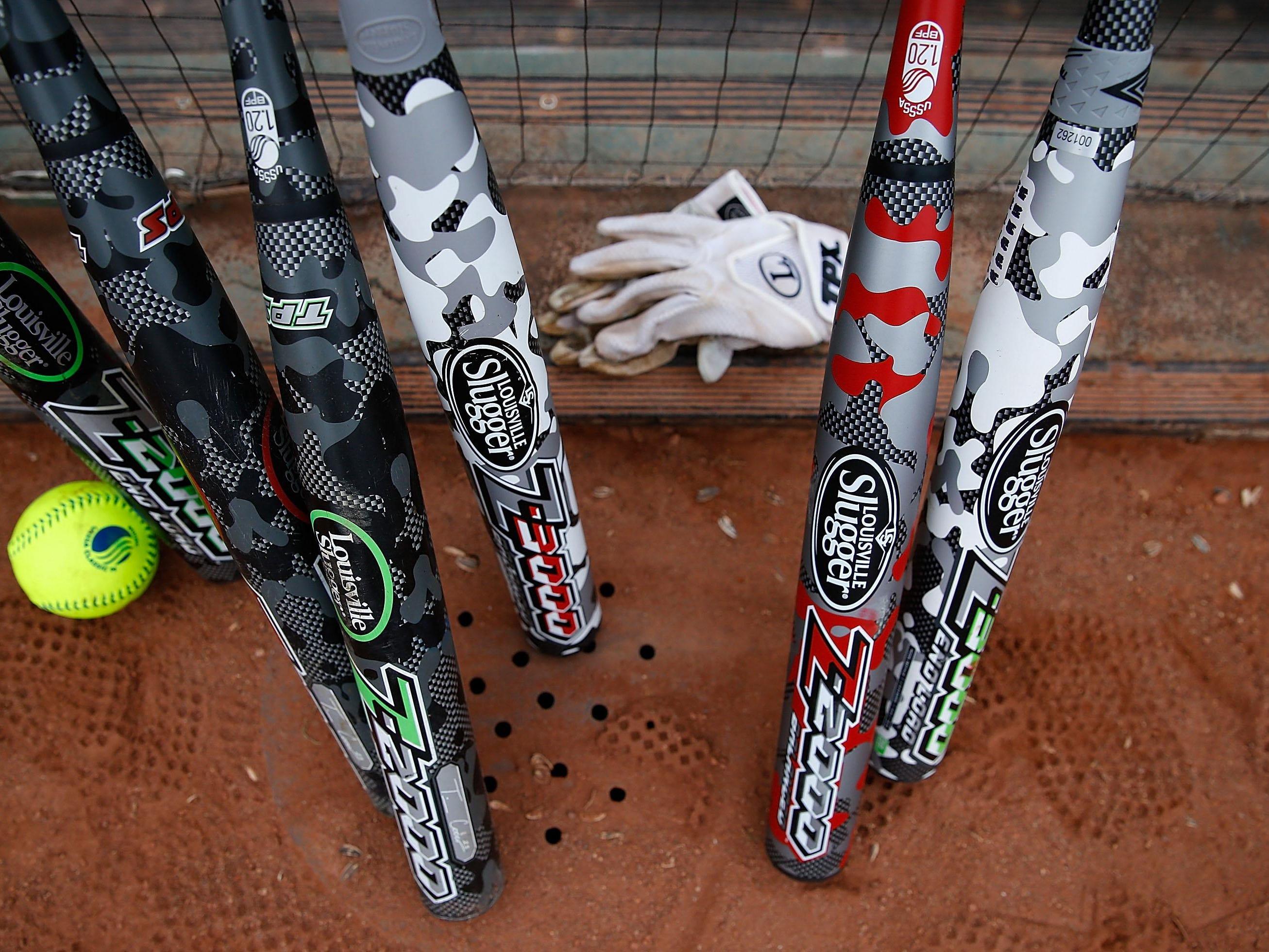 Baseball and softball were played Monday.