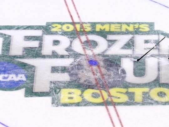 Boston University head coach David Quinn watches his